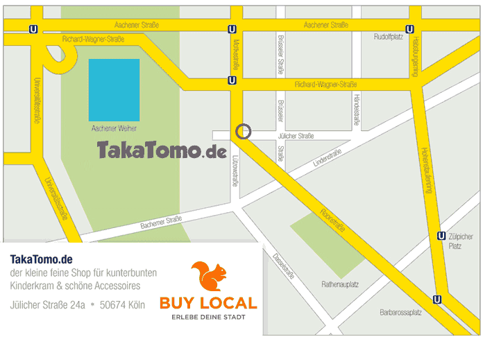 TakaTomo Shop in Köln