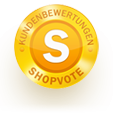 SHOPVOTE 5 star rating